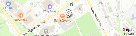 Глетчер на карте Одинцово