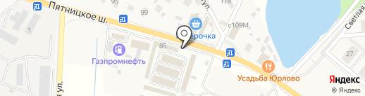 Автомойка на карте Юрлово