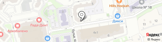 Картон Инвест на карте Красногорска