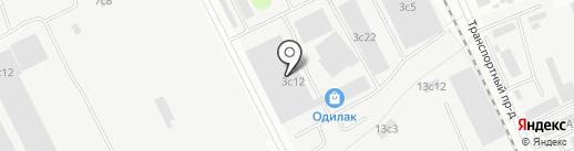 Граф на карте Одинцово
