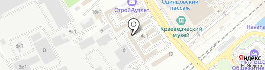 Кровли-М на карте Одинцово