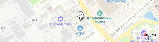 Агра на карте Одинцово