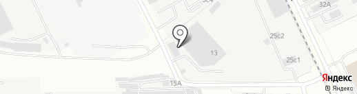 Рейлинг на карте Одинцово