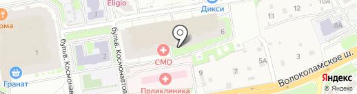 Animals на карте Красногорска