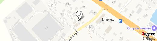 Трактир на карте Елино