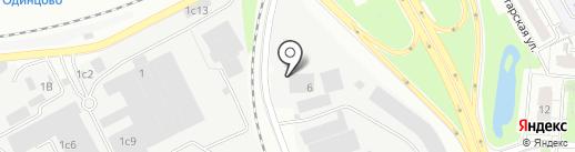 Юлайн на карте Одинцово
