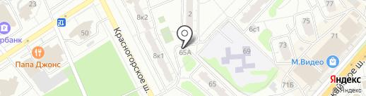 Салон оптики на карте Одинцово