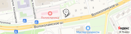 Кантри стиль на карте Красногорска