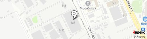 Москоопконтракт на карте Одинцово