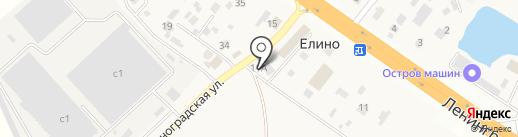 Одиссея-2009 на карте Елино