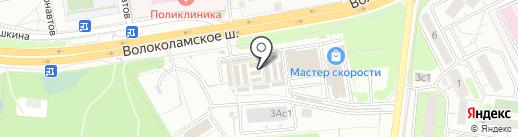 ЭКО станция на карте Красногорска