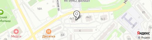 Окна Комфорта на карте Одинцово
