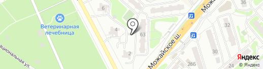 Красногорка-4 на карте Одинцово