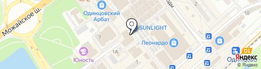 Дикси на карте Одинцово