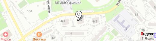 Клиника доктора Бобыря на карте Одинцово