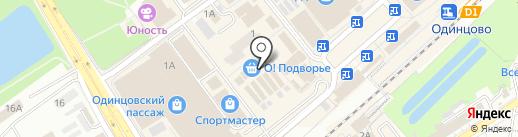 Чудо печка на карте Одинцово