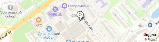Магазин сумок и бытовой химии на карте Одинцово