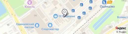 Магазин мясной продукции на карте Одинцово
