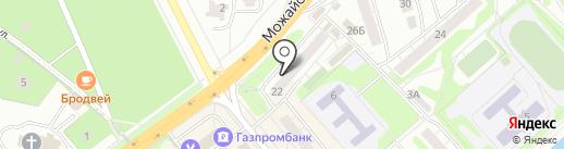 Акконд на карте Одинцово