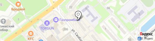 Riga-magnolica на карте Одинцово