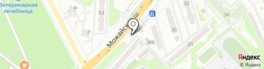 Билайн на карте Одинцово