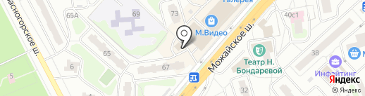 МОСОБЛБАНК на карте Одинцово