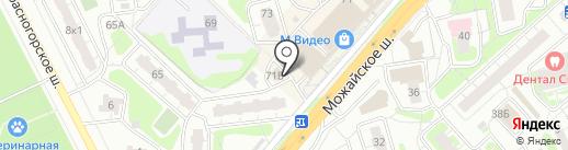 Банкомат, Мособлбанк, ПАО на карте Одинцово