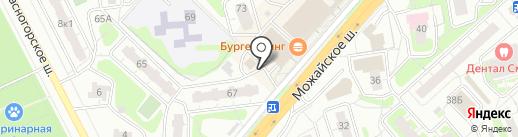 Платежный терминал, МОСОБЛБАНК на карте Одинцово