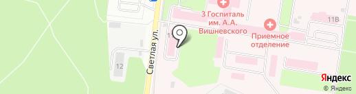 Стоматологический кабинет на карте Красногорска