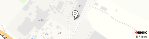 Альфа на карте Елино