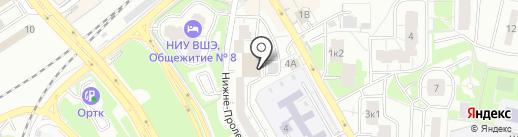 Альтамед Спорт на карте Одинцово