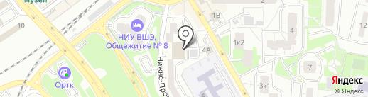 Верный на карте Одинцово