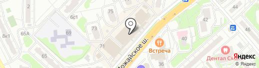 Ателье свадебной и семейной фотографии Егора Ловягина на карте Одинцово