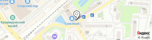 Банкомат, Московский кредитный банк, ПАО на карте Одинцово