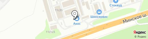 Магазин электрики на карте Одинцово