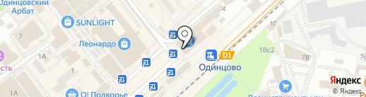 СПУТНИК стиль на карте Одинцово