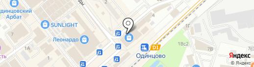 Мосцветторг на карте Одинцово