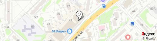 Ланина-тур на карте Одинцово