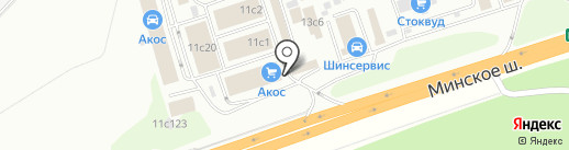 Мир Красок на карте Одинцово