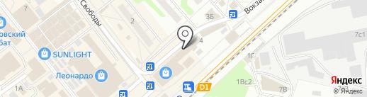 Магазин тканей на карте Одинцово