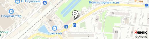 Мастер на карте Одинцово