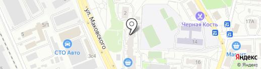 ВЭБЭР на карте Одинцово