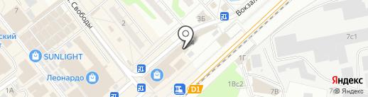 Кадастровое бюро на карте Одинцово