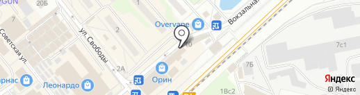 Gold fish на карте Одинцово