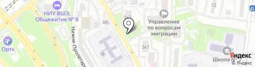 Киоск по продаже цветов на карте Одинцово