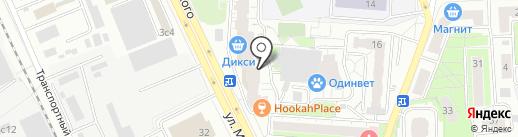 Банкомат, Сбербанк России на карте Одинцово
