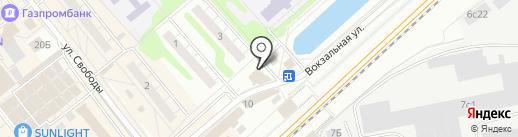Флория на карте Одинцово