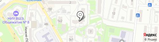 ЖЭУ 8 микрорайона на карте Одинцово
