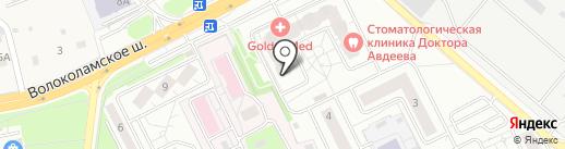 QIWI на карте Красногорска