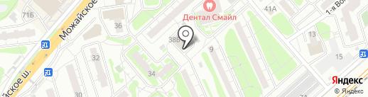 Алешка на карте Одинцово